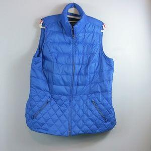 Talbots Blue vest 1x